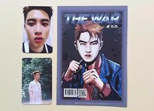 EXO 4th Album The War Official Photocard Photocard - D.O  D.O. Dio Set ( 3 pcs)