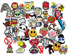 Sticker Bomb Pack Variety Vinyl Car Sticker Motorcycle Bicycle Luggage Decal Gra