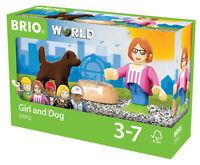 33952 BRIO Figure and Dog Railway Village People Set inc 3pcs Children 3 years+