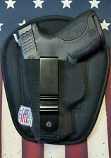 MEN'S WOMEN'S BLACK TACTICAL TUCKABLE CONCEALED GUN HOLSTER - IWB - INSIDE WAIST
