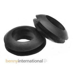 10x 10mm GROMMETS Rubber Wiring Brewing Craft Beer Homebrew Fermenter Liquor