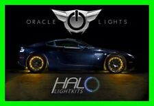 AMBER LED Wheel Lights Rim Lights Rings by ORACLE (Set of 4) for CHEVY MODELS 5