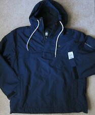 "G-STAR RAW (Sartho Blue/Navy) ""RACKAM"" Anorak Jacket Men's NWT $150 Size S"
