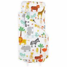 Bloomsbury Mill - Safari Animals Nap Mat for Toddler's Jungle Birthday Gift