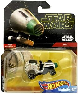 Hot Wheels Star Wars Character Cars D-0 First Appearance! Die-Cast 1:64 Scale