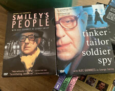 John Le Clarre's Smiley's People & Tinker Tailor Soldier Spy DVD