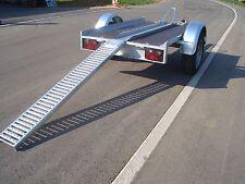 Auffahrschiene aus Stahl Tragkraft 225 kg für Motorräder usw.