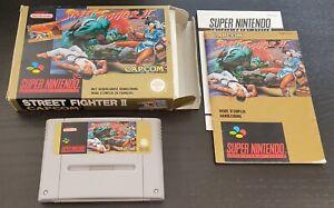 [Super Nintendo / SNES] Jeu Street Fighter 2 complet PAL (FAH)