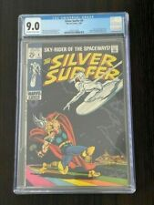 Silver Surfer #4 1969 CGC 9.0 Classic Buscema Cover Stan Lee Story