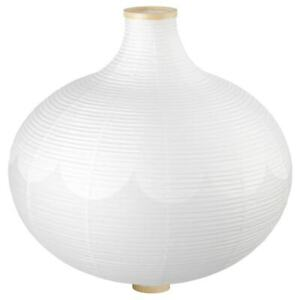 *New* RISBYN Pendant lamp shade, onion shape, White,  57 cm *Brand IKEA*