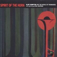 Spirit of the Horn; Slide Hampton 2002 CD, Jazz Trombone, Bill Watrous, McG Jazz