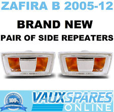 ZAFIRA B PAIR OF SIDE REPEATERS INDICATOR LENSES DRIVERS PASSENGER CDTI SRI LIFE