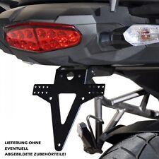 Support de plaque d'immatriculation Queue tag Kawasaki Versys 1000 GT réglable