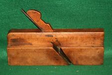 Antique 19th Century R. Harron, NY 1844-65 Hollow Woodworking Plane  Inv#JB60