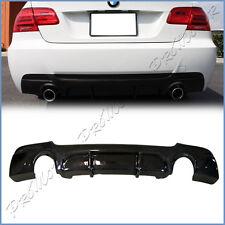 For 07-13 E92 E93 328i 325i M-Tech Bumper P Style Carbon Fiber Rear Diffuser Lip