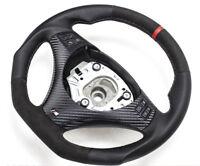 Aplati Alcantara Volant en Cuir BMW M-POWER E81, E82 Neuf Cuir - Couverture 1
