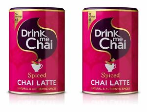 Drink Me Chai Latte Spiced Chai - 250g (Pack of 2)