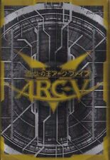 (100) Yu-gi-oh Card Deck Protectors Arcy Card Sleeves Black