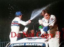 Henri Toivonen MARTINI LANCIA DELTA s4 Monte Carlo Rally 1986 fotografia 7