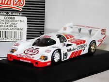 PORSCHE 956 SHORT TAIL BRUN FATURBO SPA1986  QUARTZO Q3068 1:43
