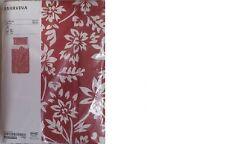 Ikea Barrviva Single Duvet/Quilt Cover & Pillowcases - Red & White