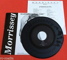 MORRISSEY/The Smiths -Hairdresser On Fire- Rare Japan 1 Sided Etched Promo 7""