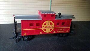 I4  HO Scale Train VINTAGE ATSF SANTA FE CABOOSE red 999851 erw43