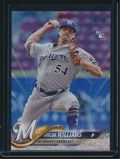 2018 Topps Series 2 Father's Day Powder Blue #505 Taylor Williams RC 03/50