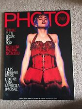 MADONNA PHOTO ITALIA MAGAZINE SEPTEMBER 1987 MICK JAGGER BOB GELDOF