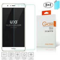 [3-Pack] Nacodex HD Tempered Glass Screen Protector for Huawei Honor 8 5.2 inch