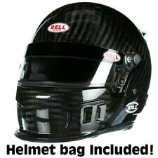 Bell Gtx3 Carbon Fiber Auto Racing Helmet 7 1/2 Sa2015 In Stock