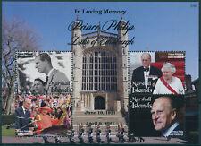 More details for marshall islands 2021 mnh royalty stamps prince philip duke of edinburgh 4v m/s