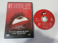MY LITTLE EYE LA CAMARA SECRETA MARC EVANS DVD + EXTRAS TERROR ESPAÑOL ENGLISH