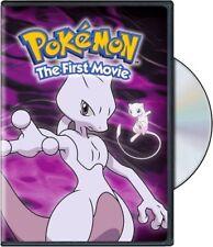 Pokemon the First Movie Mewtwo Strikes Back Veronica Taylor Anime Family DVD NEW