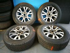Genuine Ford Ranger Alloy Wheels & Continental Tyres 265/60/R18