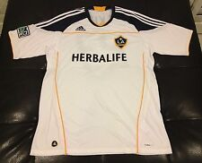 Los Angeles Galaxy Adidas Football Soccer Jersey Men's Large New Without Tags