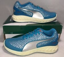 $100 PUMA MENS SIZE 7.5 IGNITE 3 CORAL BLUE RUNNING ATHLETIC SHOES NEW RARE