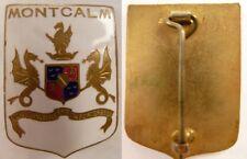 MONTCALM Croiseur (Cartier Angleterre couleurs inversées-1937-1961- TBE - Marine