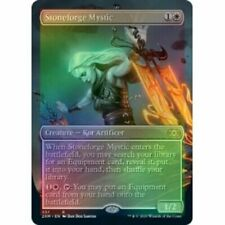 MTG Stoneforge Mystic - Double Masters SHOWCASE BORDERLESS (NM) English *FOIL*