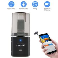 Automatic WiFi Smart Fish Feeder Control Button Food Dispenser for Fish Tank