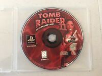DISC / GAME ONLY Tomb Raider II Sony PS1 PlayStation 1997 tested