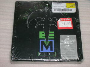 QUEENSRYCHE EMPIRE 20th Anniversary Edition 2 CD DELUXE BIG BOX SEALED LS70
