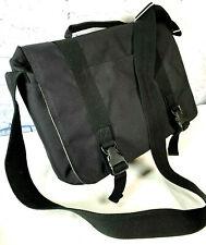 Patagonia Nylon Black Laptop Computer Messenger Cross Body Shoulder Bag EUC