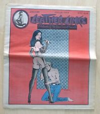 Leather Links #95 Vintage Erotica domination SM magazine sex 1970s