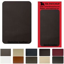 Dark Brown Leather Repair Patch Kits size 6 x 3 inches- 3 DAYS FREE SHIPPING