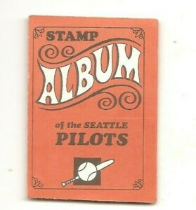 1969 Topps complete stamp album (10) Seattle Pilots, only year