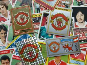 Manchester United Stickers 1978-1991 (Panini/FKS/Merlin/Others)