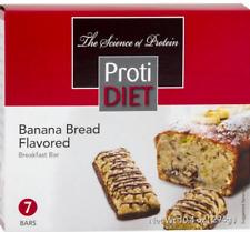 Keto snacks: ProtiDiet Banana Bread flavored bar 7 bars (3 net carbs)