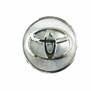 "4 pcs, Toyota, Wheel Center Cap, Chrome 57 MM / 2.25"", Corolla, Yaris, Prius"