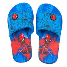 Disney Store Spider Man Avengers Boys Flip Flops Sandals 7/8 9/10 11/12 13/1